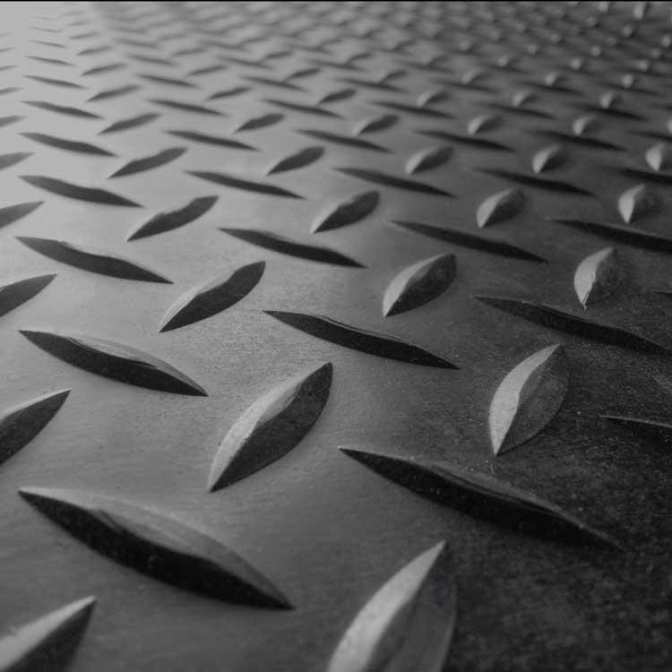 planchas diamantadas de acero